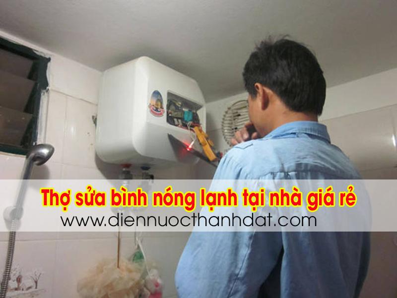 Thợ sửa bình nóng lạnh tại Hà Nội